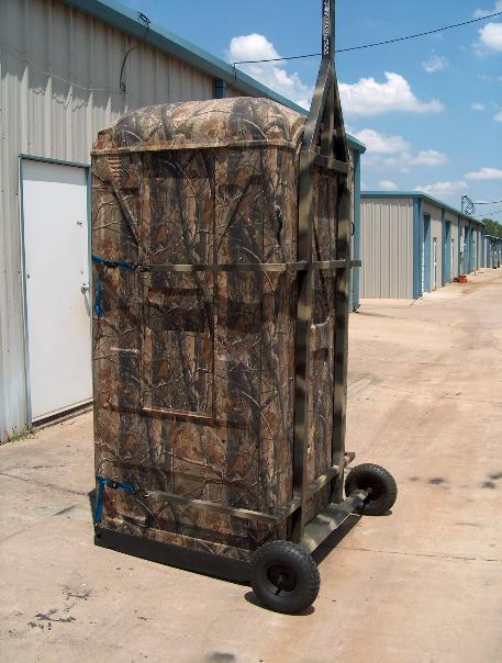 Mobile Hunting Trailers Blinds Realtree Portable Blinds